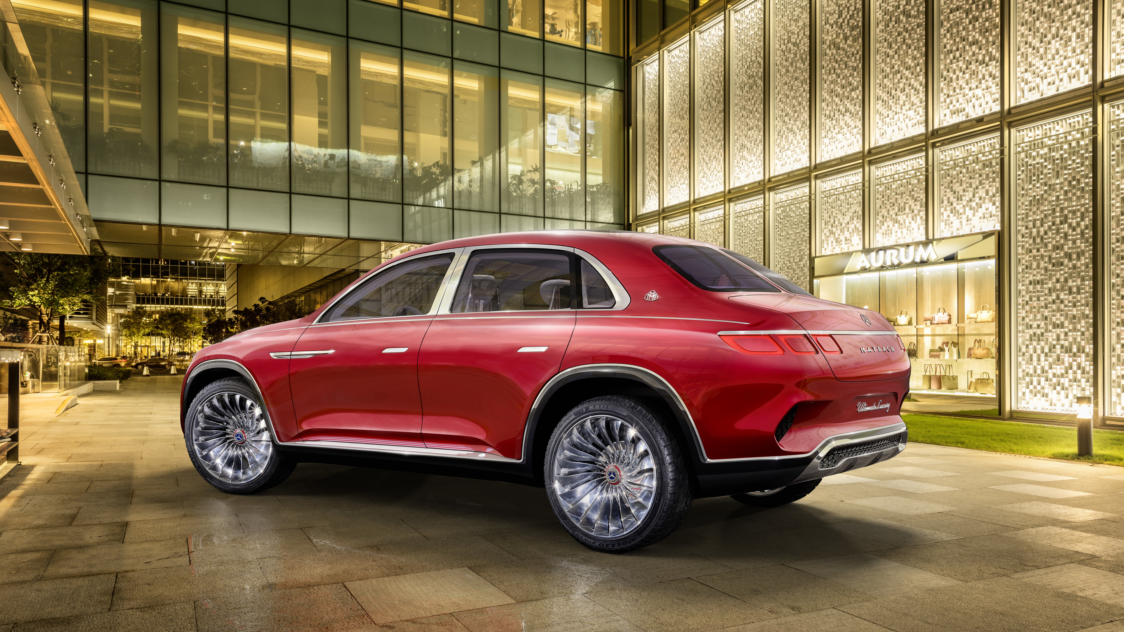 Vision Mercedes-Maybach Ultimate Luxury, Auto China 2018