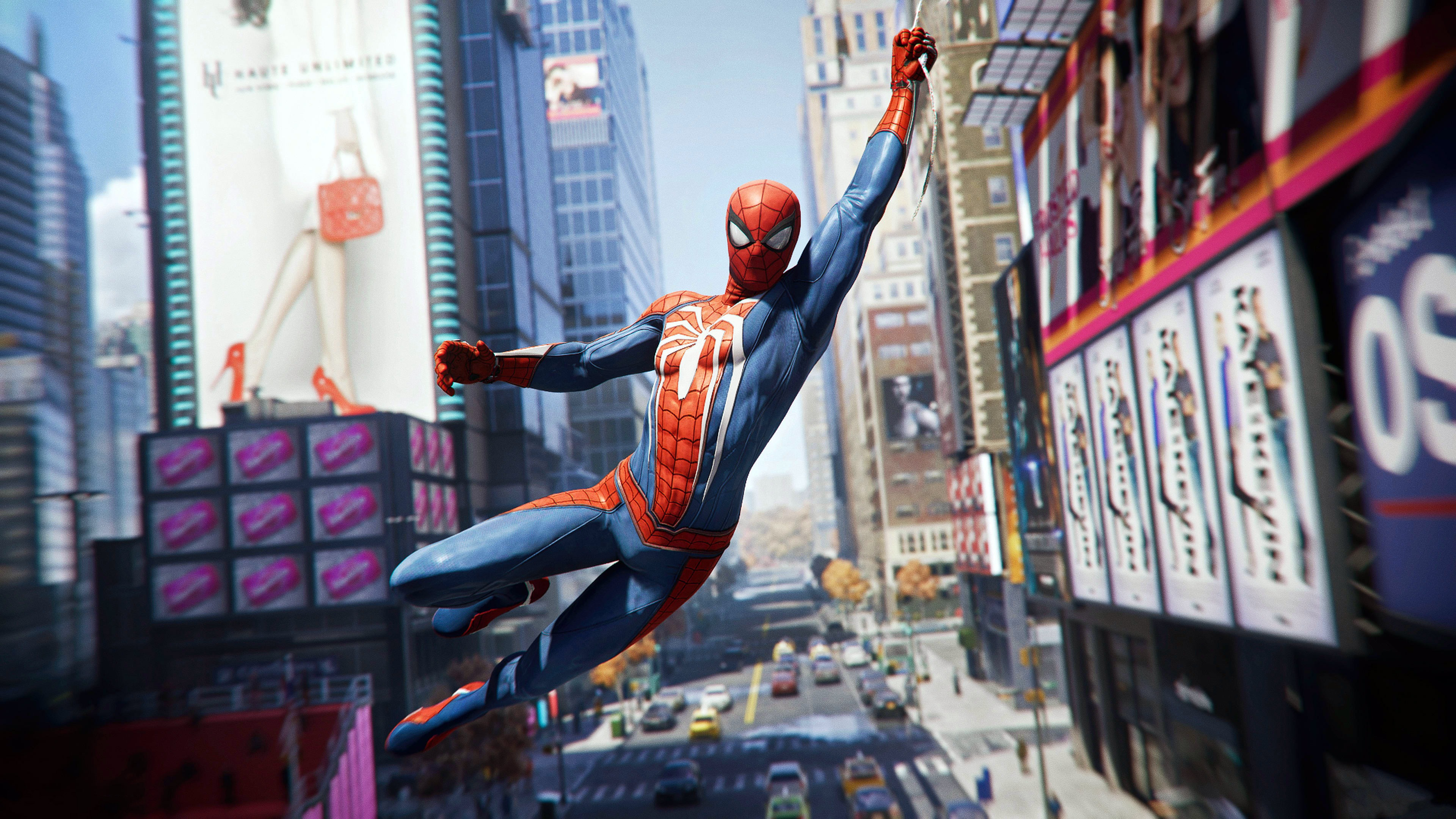 Spiderman 2018 Ps4 Game Hd Poster Wallpaper For Desktop