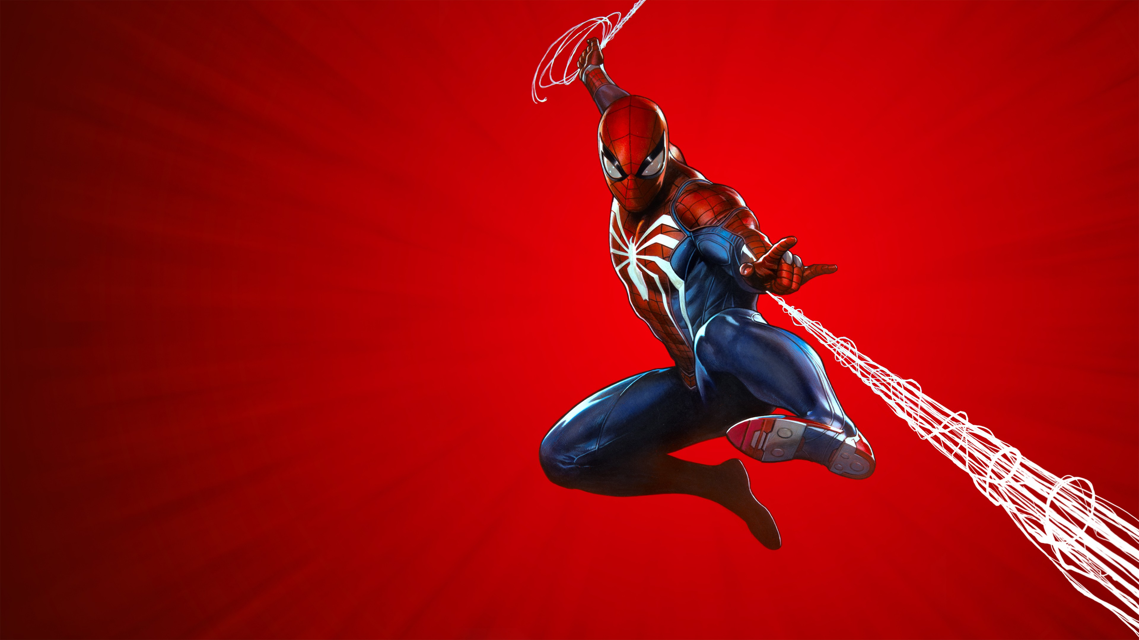 Spider Man PS4 Game Cover Background