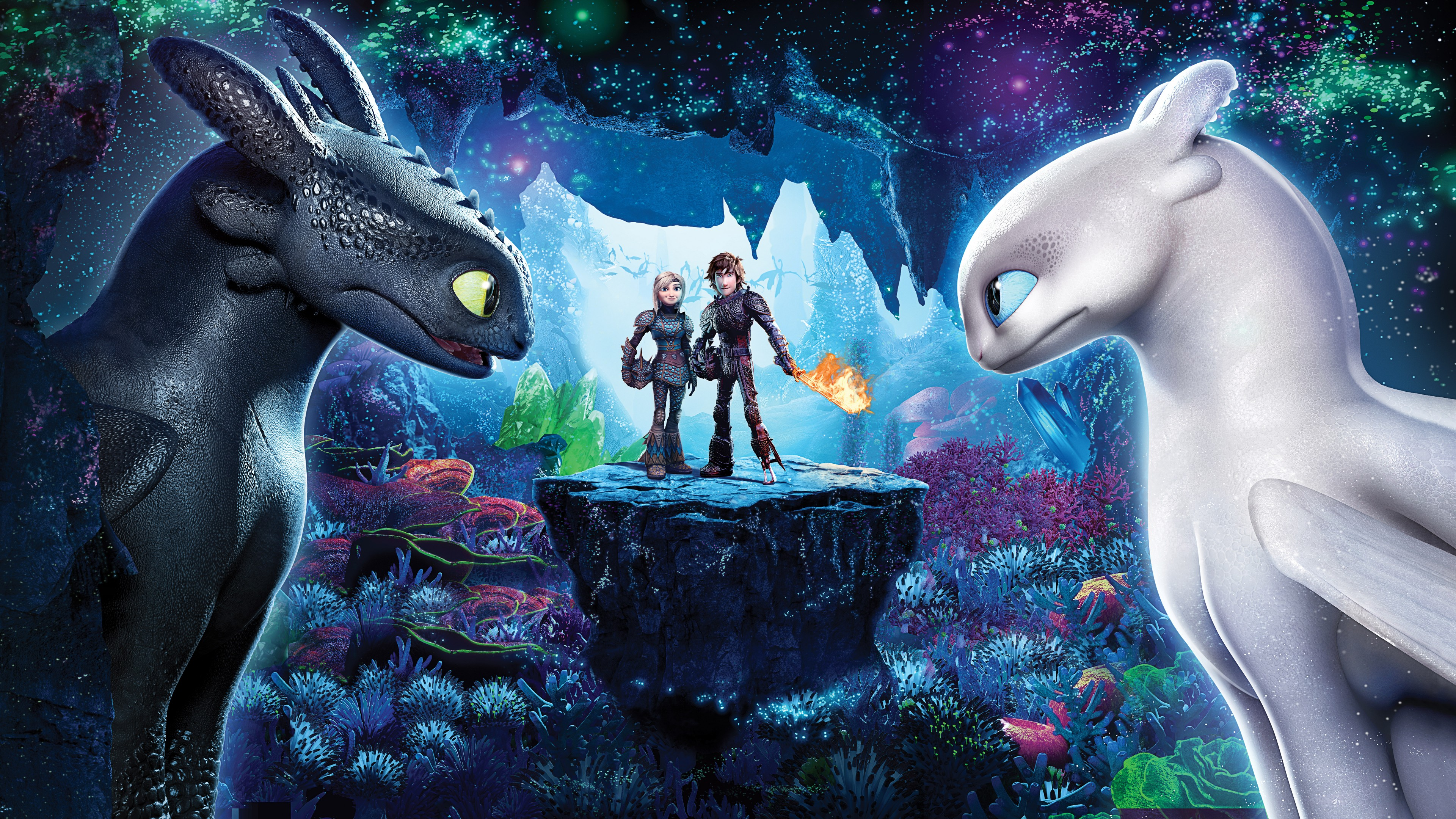 How To Train Your Dragon 3 The Hidden World HD Wallpaper Download
