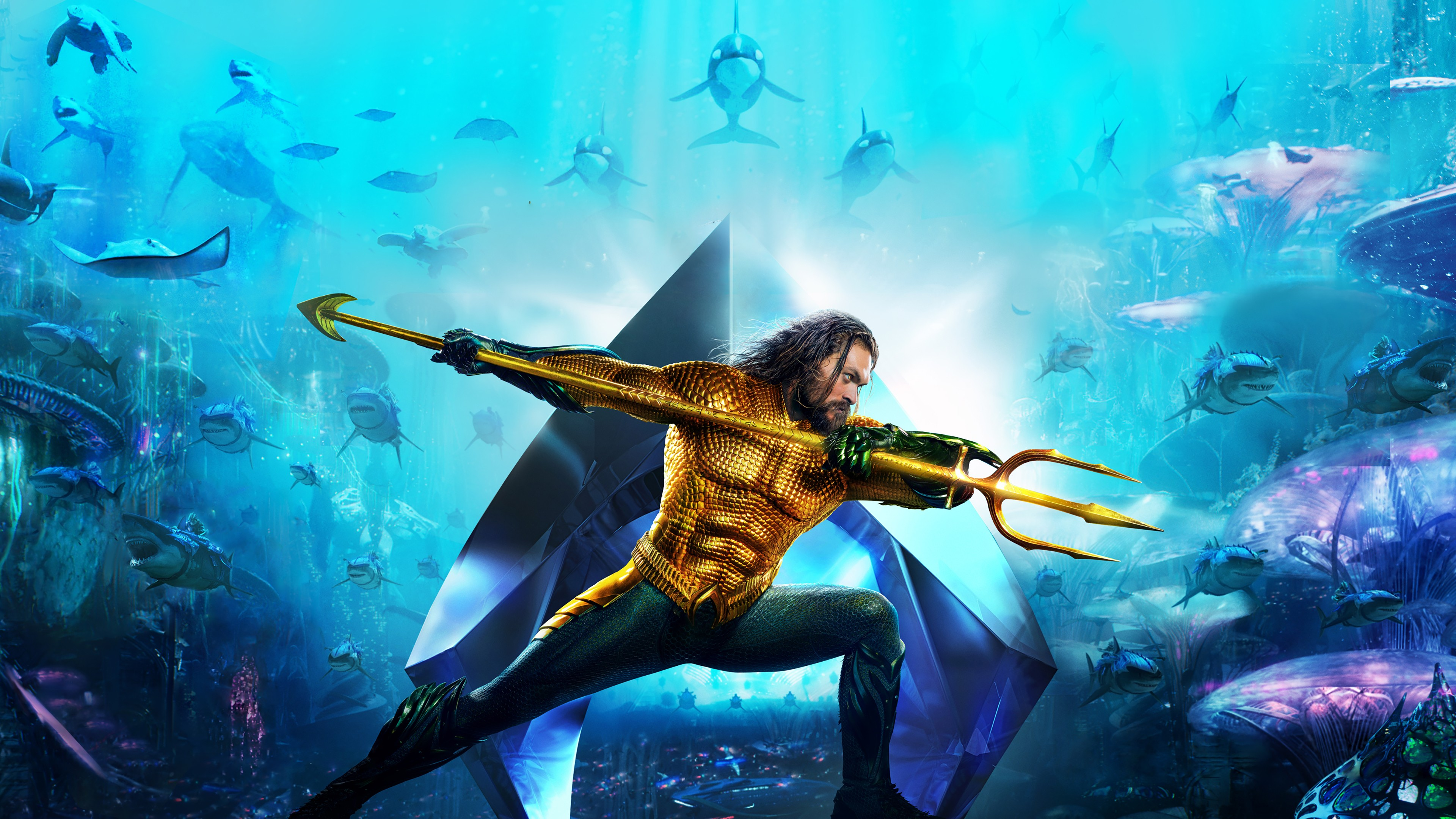 Aquaman 4K Movie HD Wallpaper for Desktop