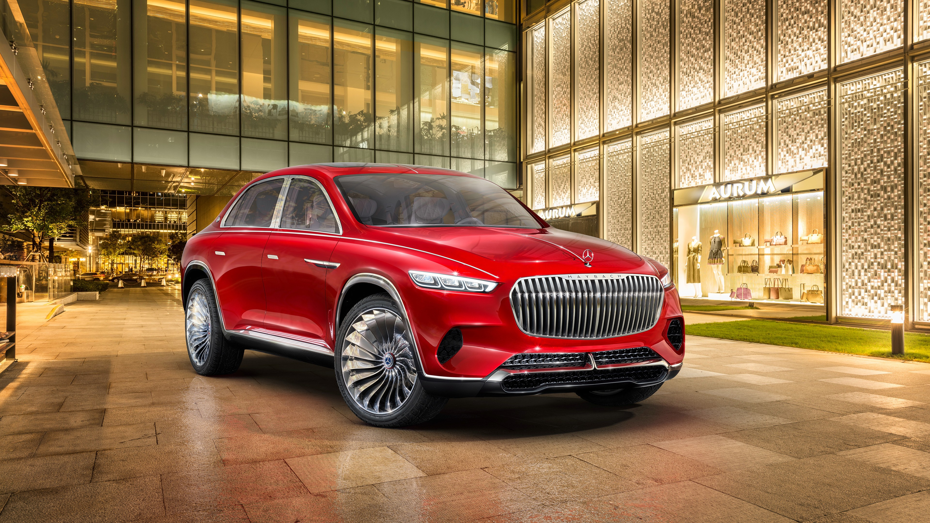 2018 Vision Mercedes Maybach Ultimate Luxury 4K Wallpaper HD