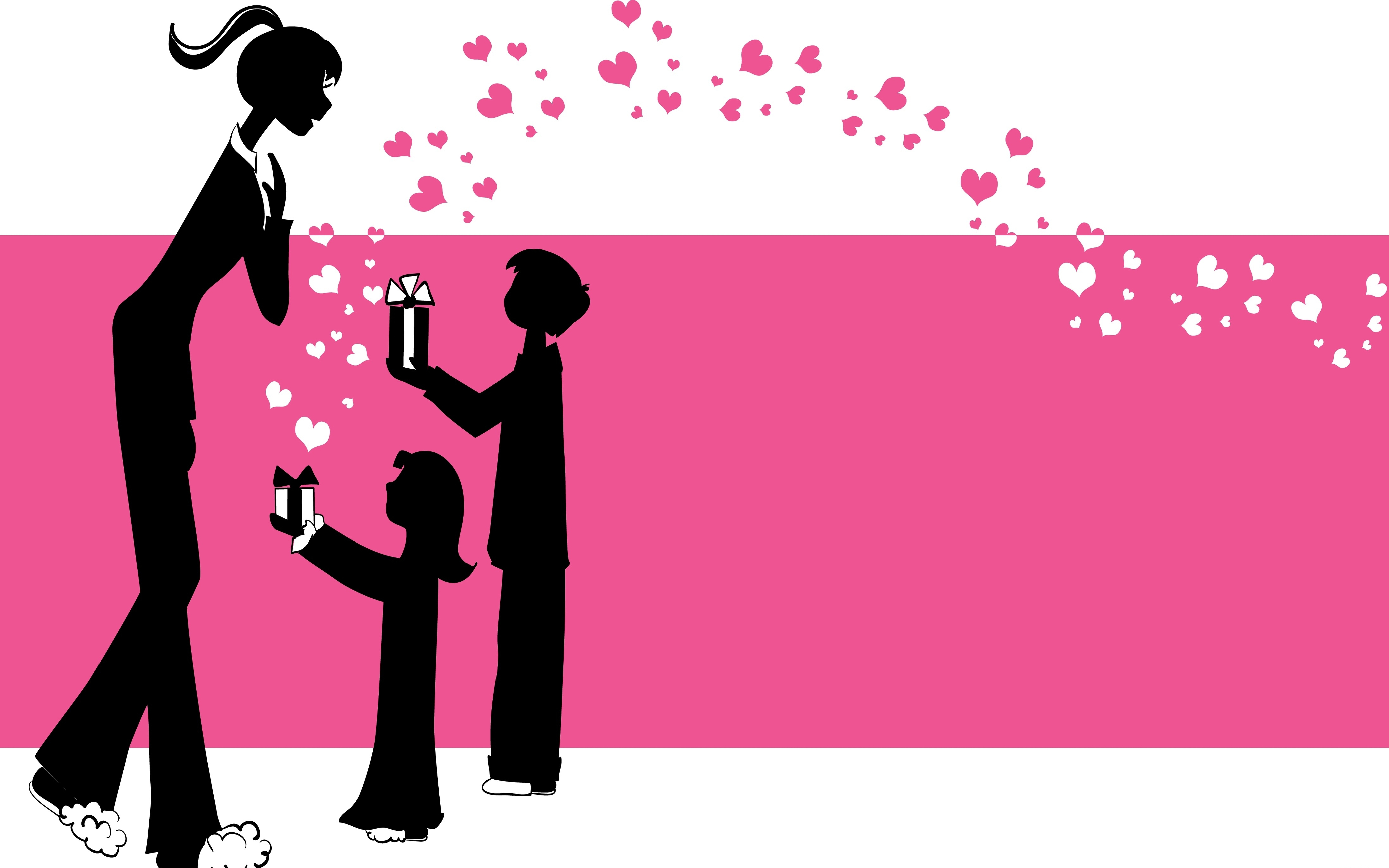 Gifts for Mom illustration Image Background mothers day