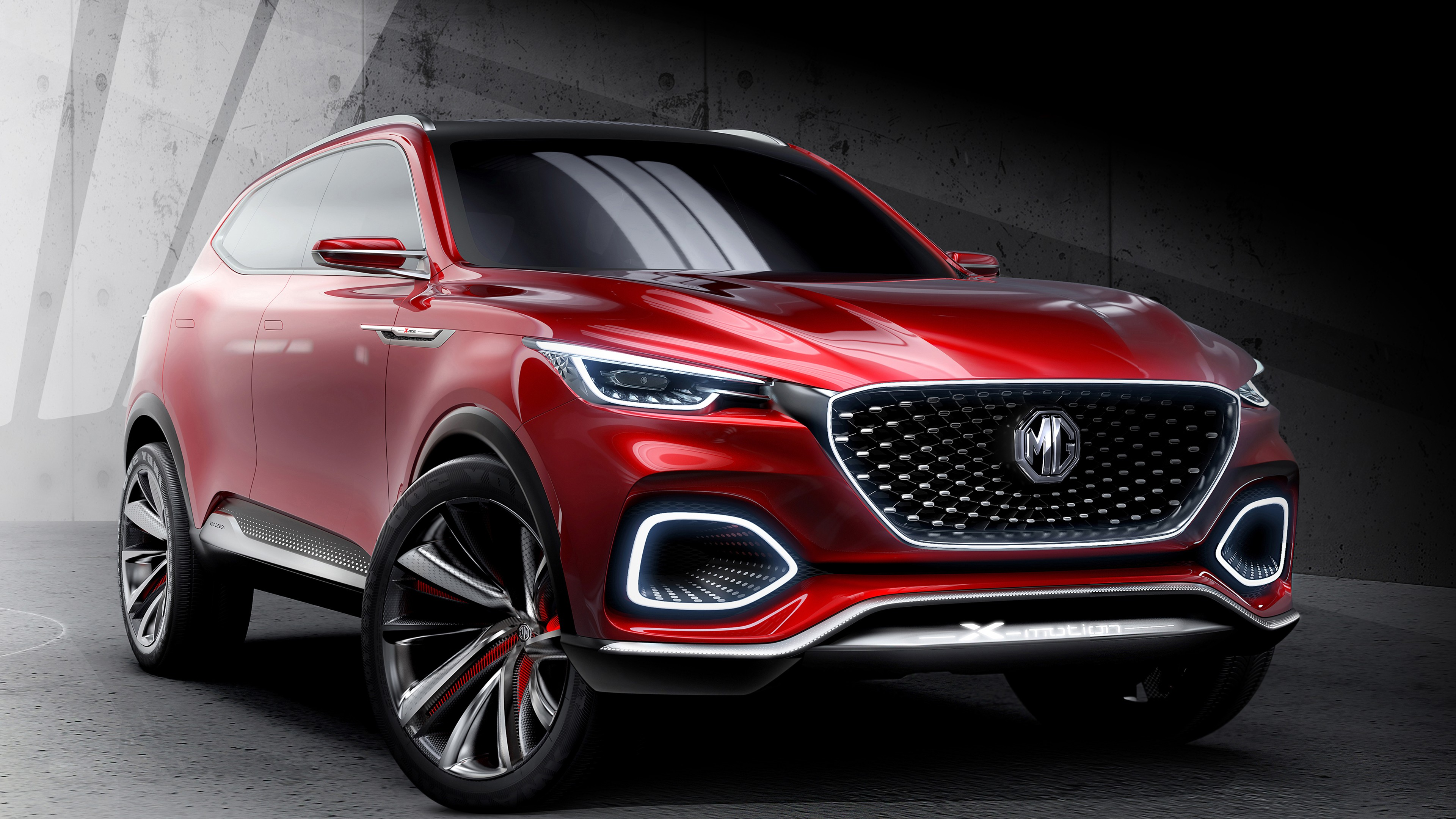 Concept Car MG X Motion SUV Photo 4K Desktop Wallpaper