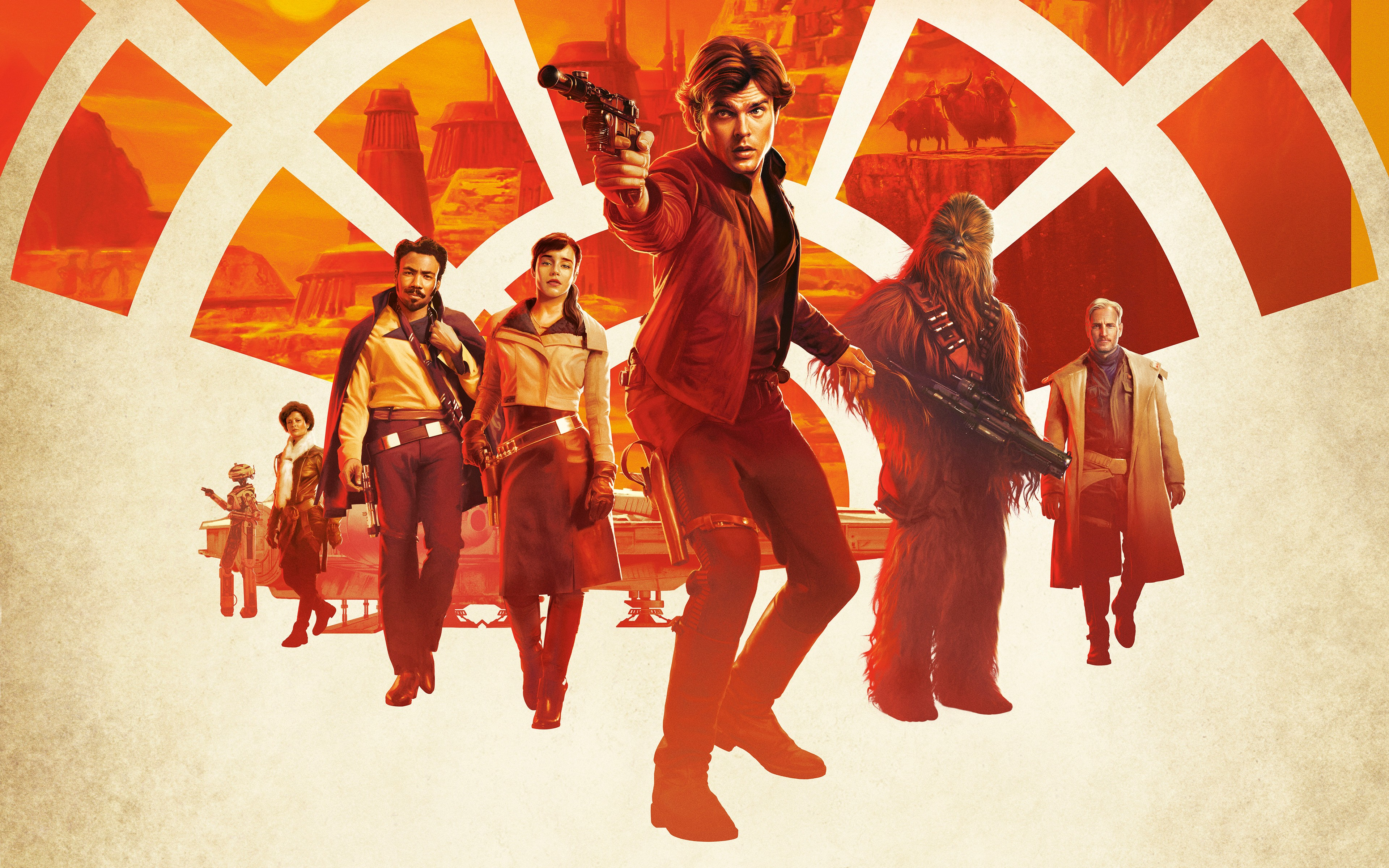 Solo A Star Wars Story Movie Poster Wallpaper