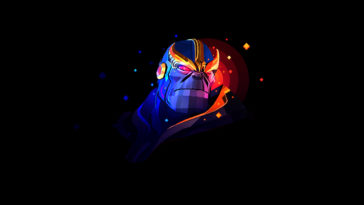 Thanos Digital Art Graphics Wallpaper 4k Background