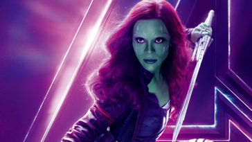 Zoe Saldana As Gamora Avengers Infinity War 4K Wallpaper-3840x2160
