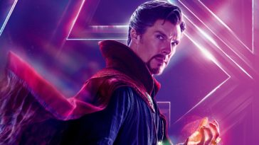 Doctor Strange in Avengers Infinity War Film Photo HD