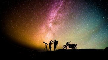 Love Romantic Couple Silhouette Starry Sky Wallpaper 3840x2160