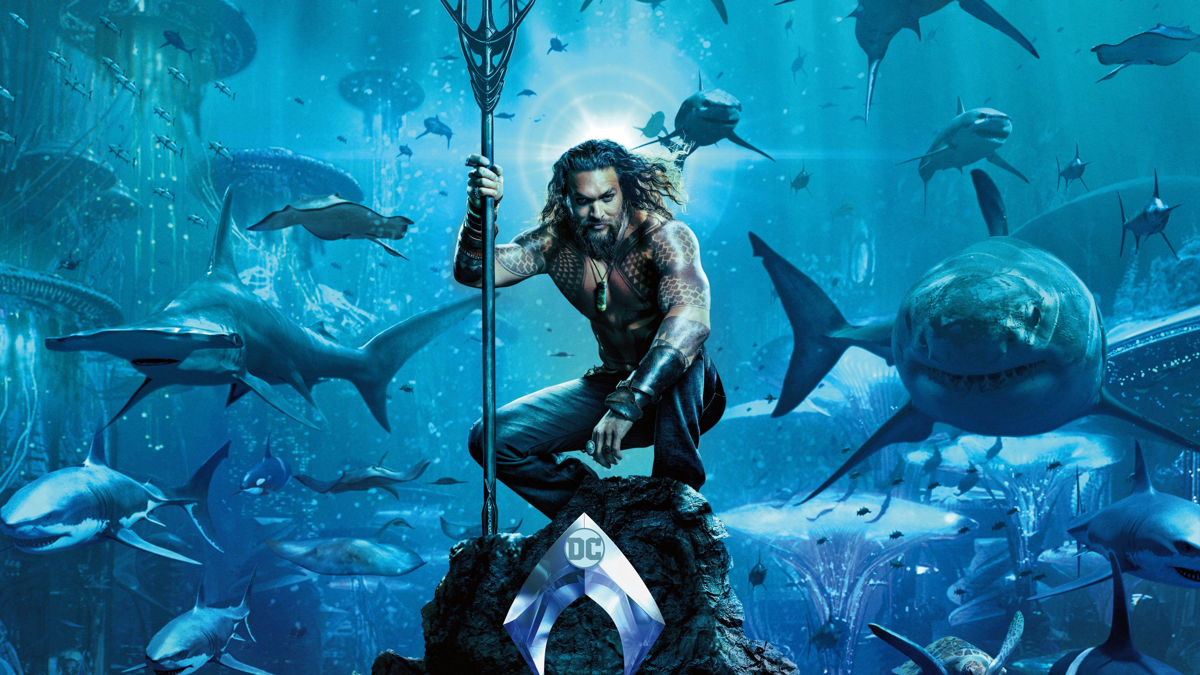 Aquaman HD 4K Wallpaper