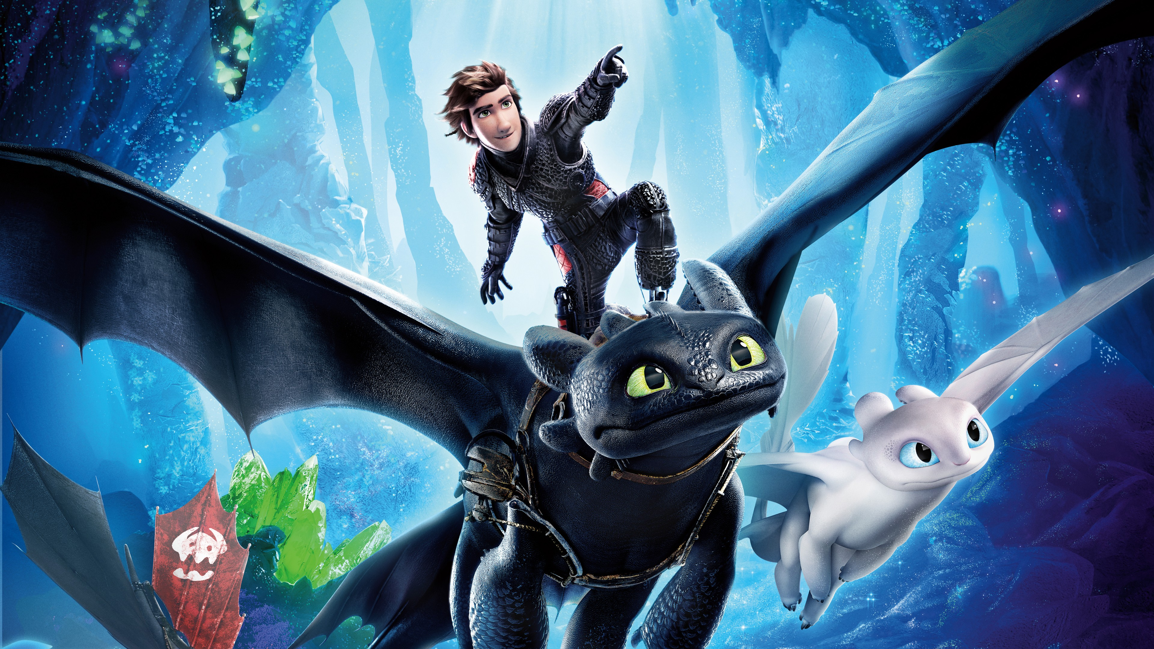 How To Train Your Dragon 3 The Hidden World 4K wallpaper