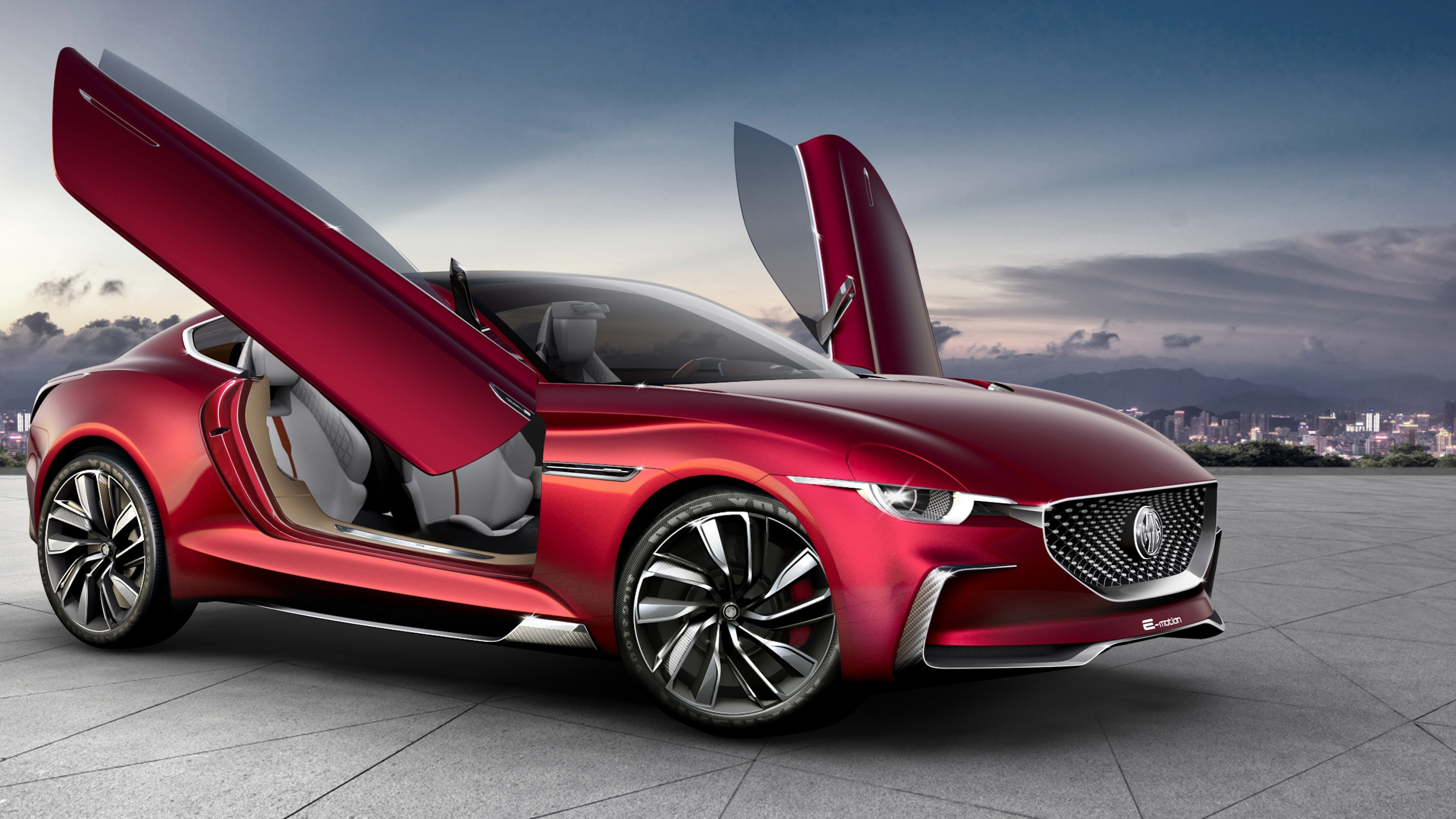 MG E-Motion EV Sports Car 2020 Photo Wallpaper