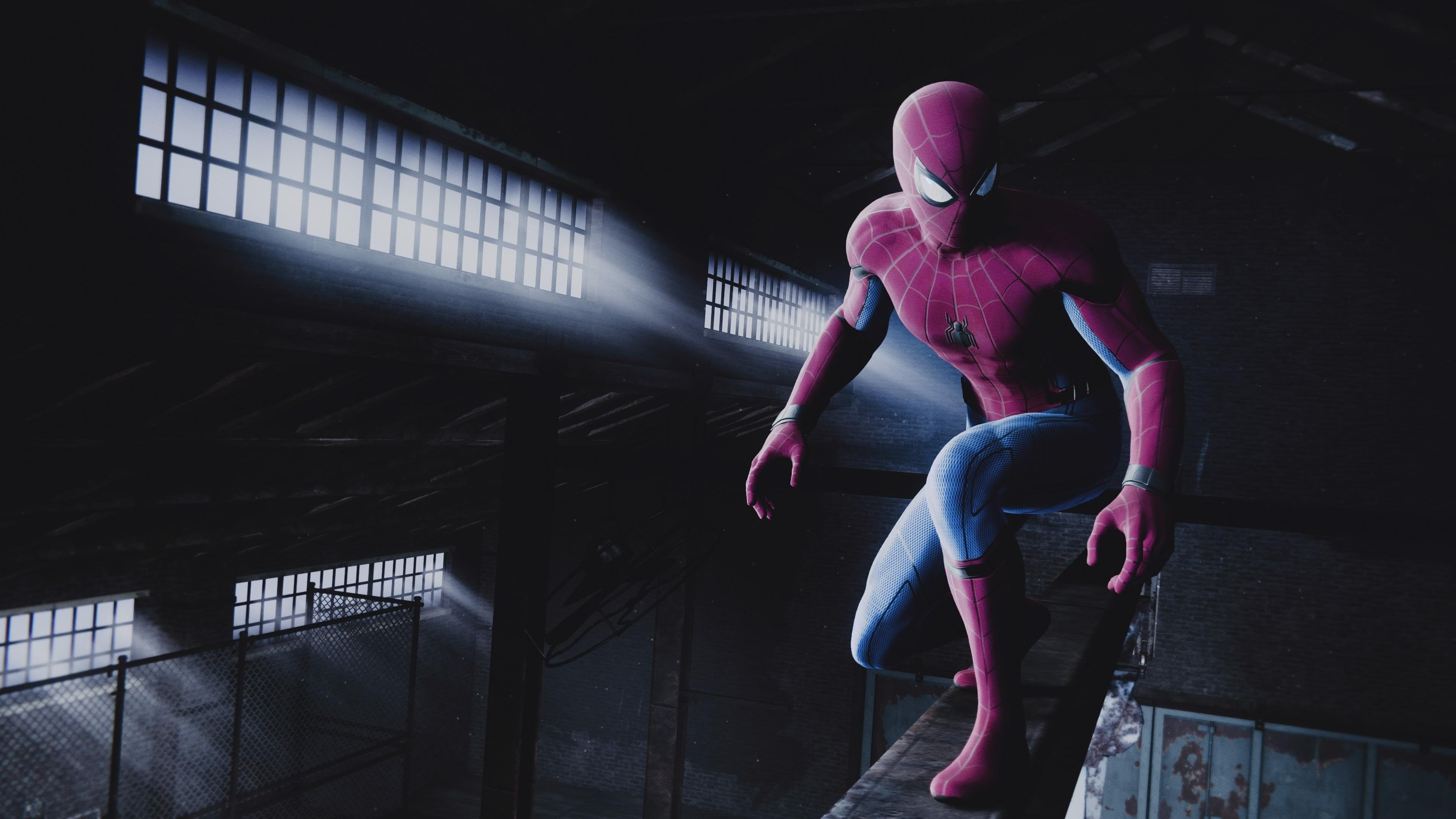 Spider-Man Game 4K Background 3840x2160