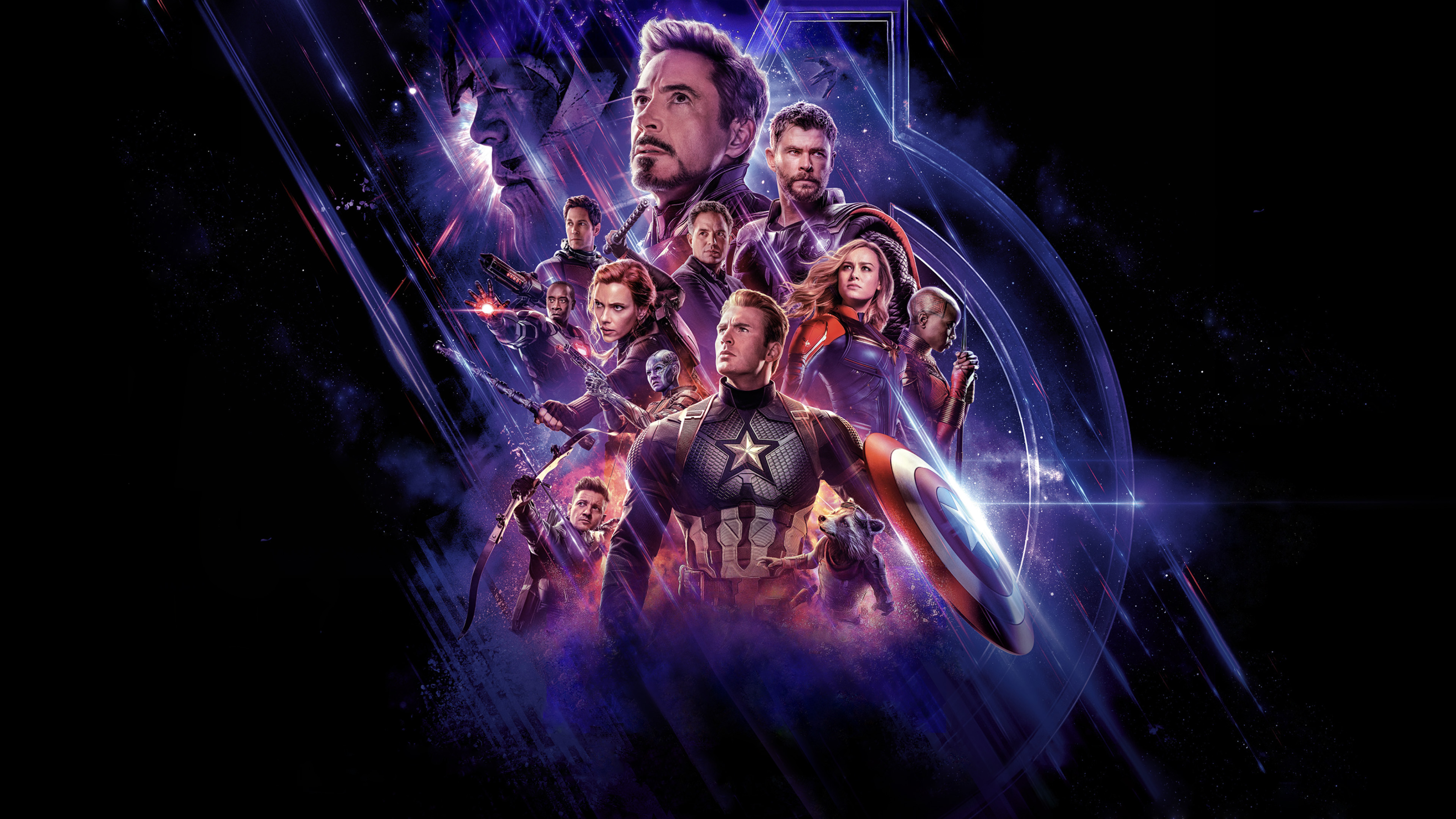 Avengers Endgame Poster 4K Wallpaper HD 3840x2160