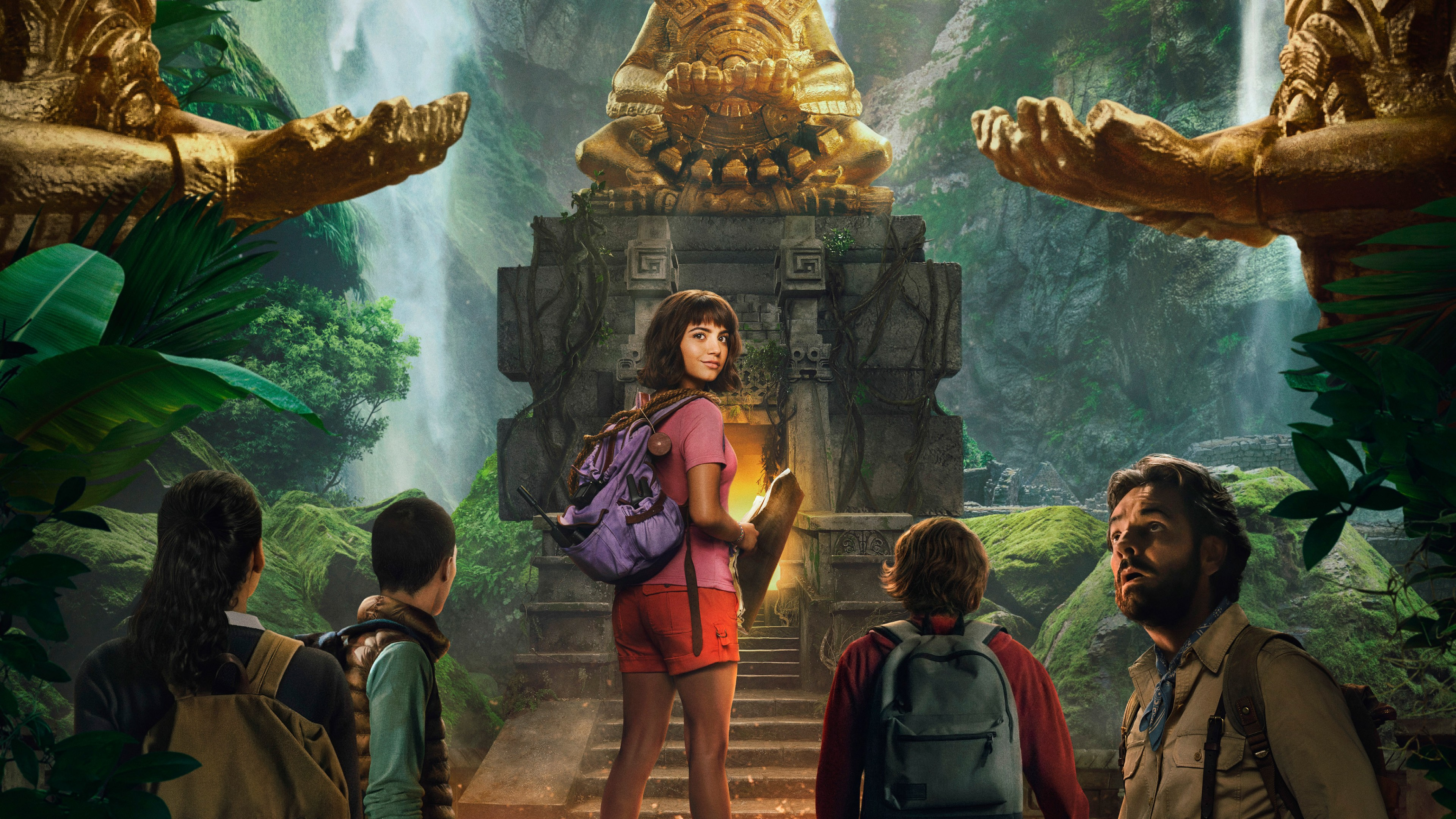 Dora And The Lost City Of Gold 2019 HD Wallpaper 4K
