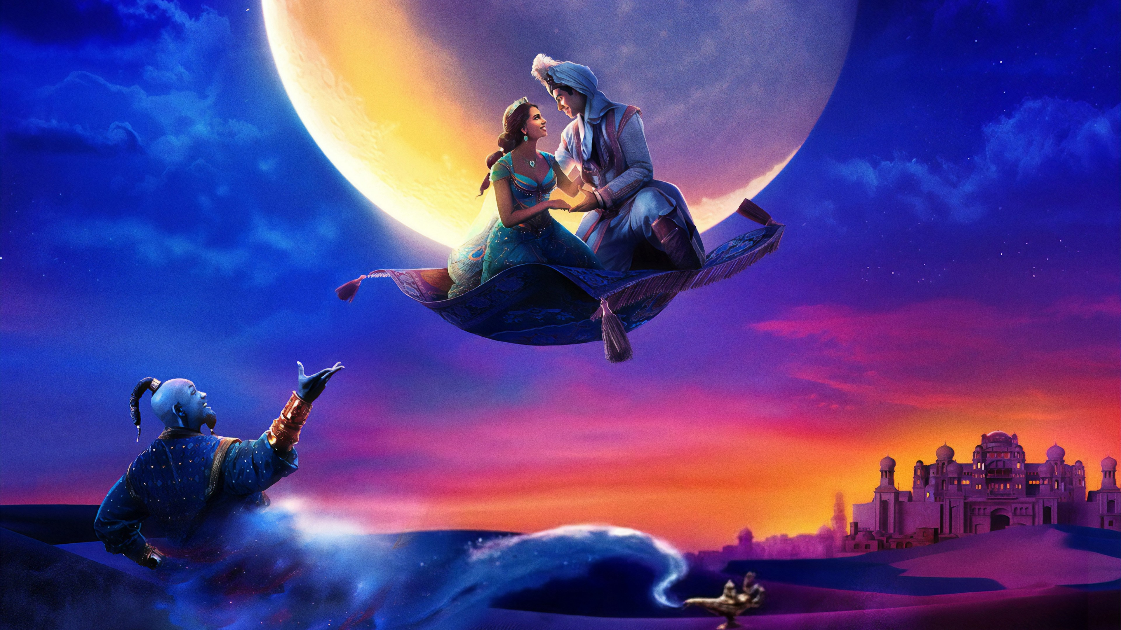 Aladdin 2019 Wallpaper 4K