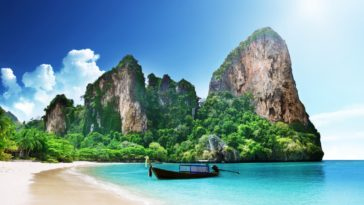 Railay Beach Thailand HD Wallpaper 4K