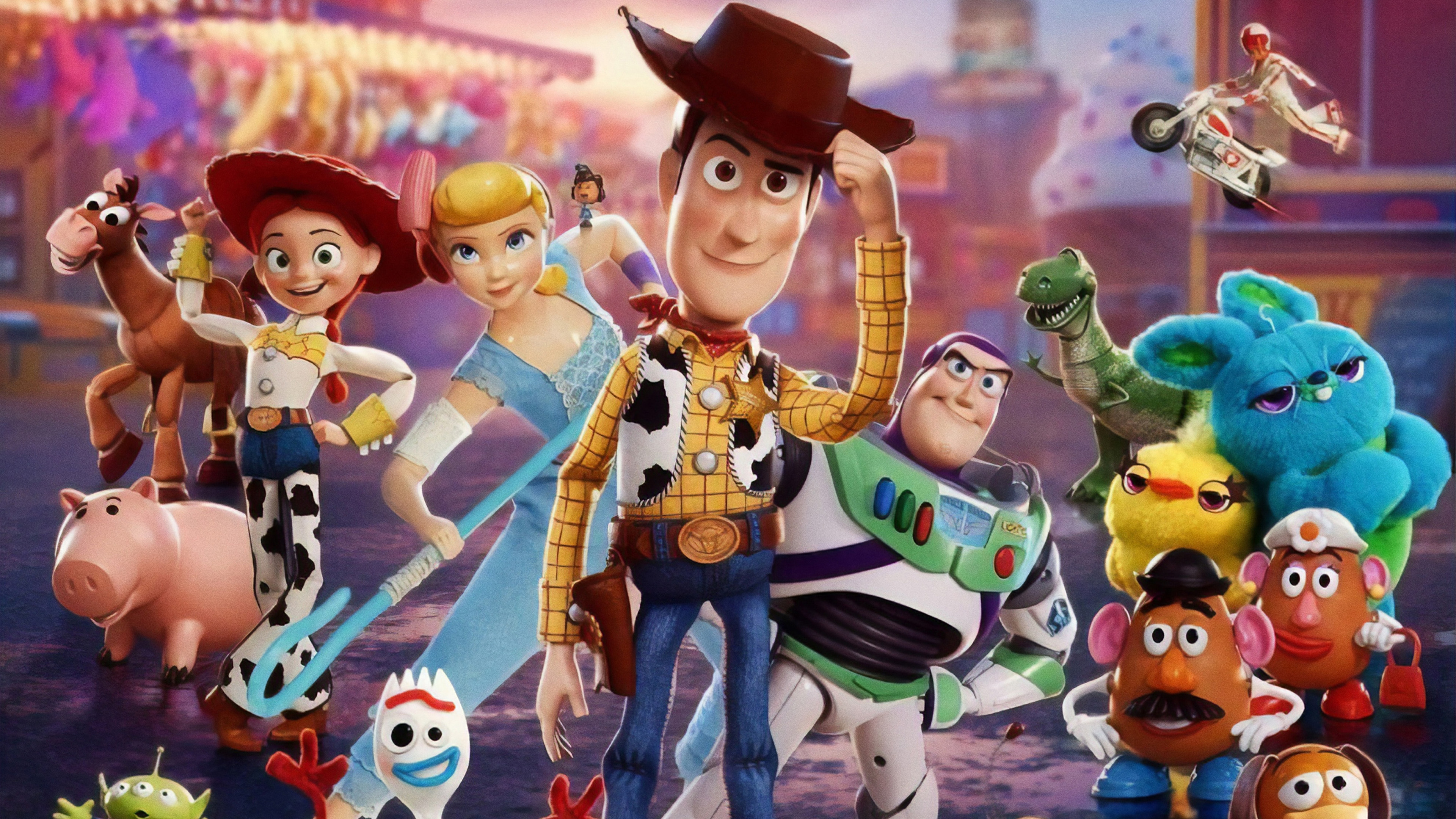Toy Story 4 HD Wallpaper 4K for Desktop