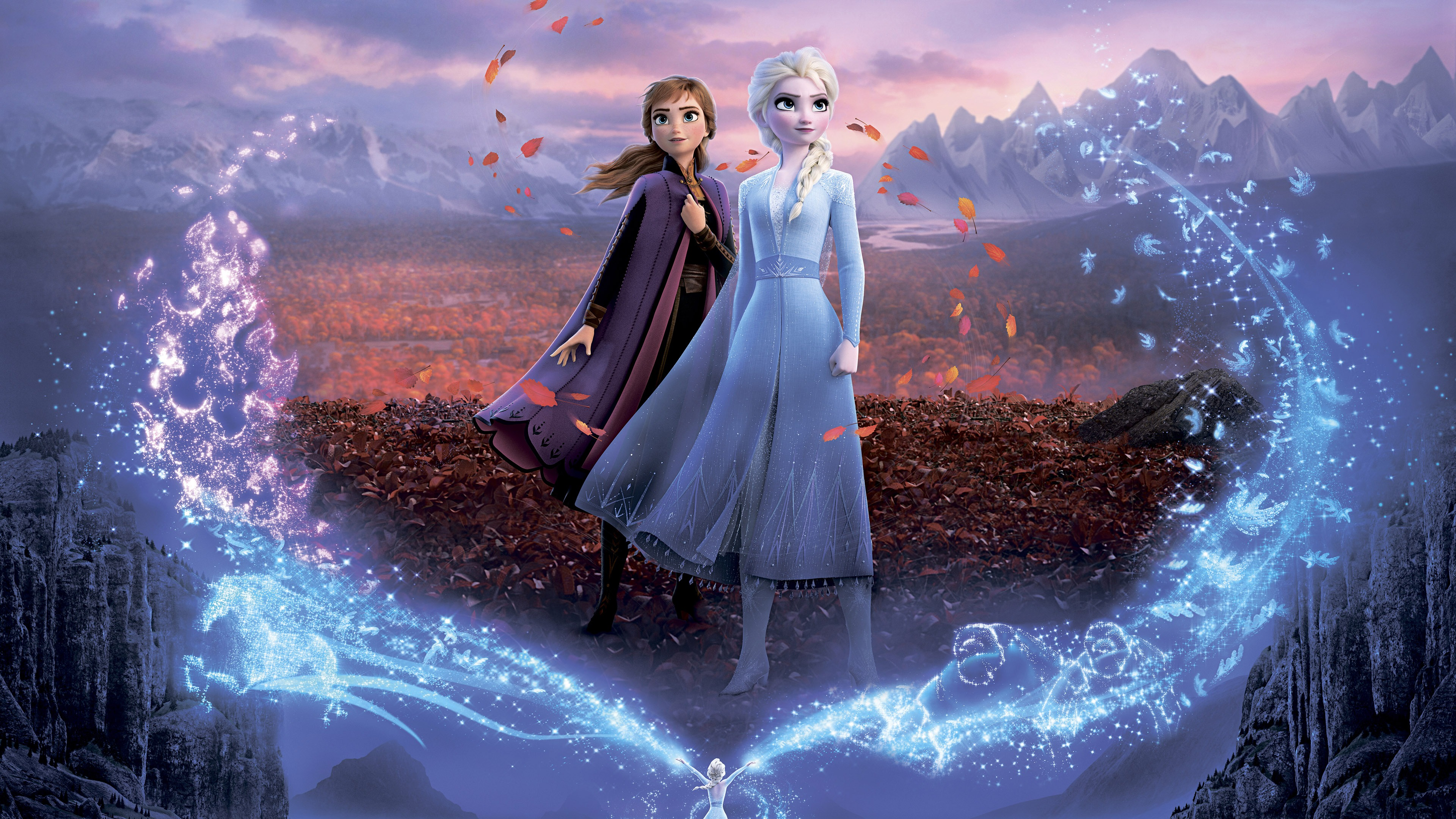 Frozen 2 Movie High Quality Desktop Wallpaper HD 4K