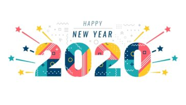 Colorful New Year 2020 Image Wallpaper
