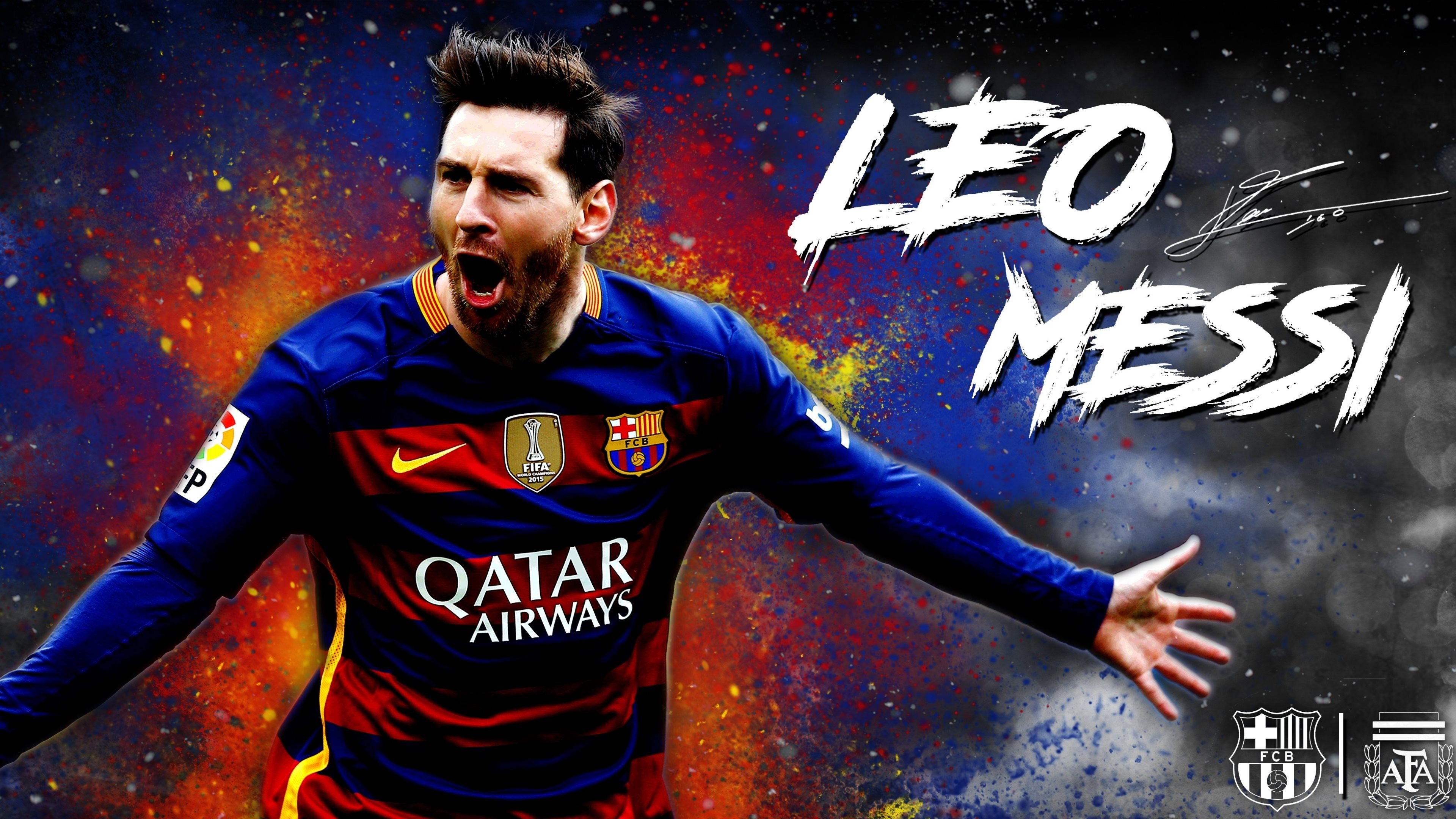Lionel Messi Photo Footballer Wallpaper 4k HD 3840x2160