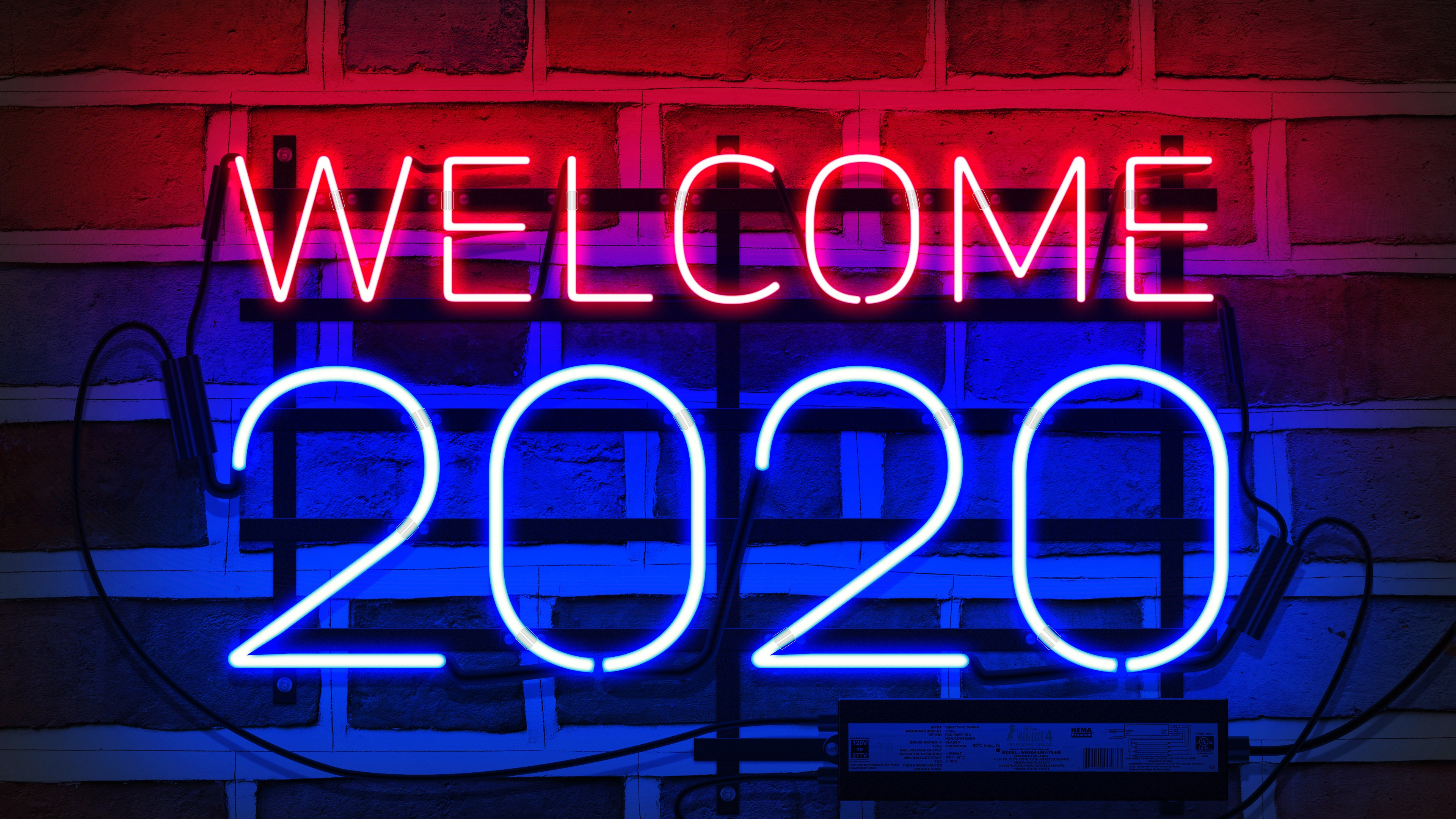 Welcome 2020 New Year Hd Poster Wallpaper Hd