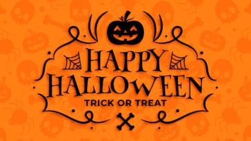 Happy Halloween Design Wallpaper for Desktop