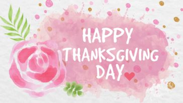 Happy Thanksgiving Design Wallpaper 3840x2400